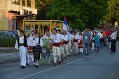 10 διεθνές φεστιβάλ Lukavac 2016 λαογραφίας Στοκ φωτογραφία με δικαίωμα ελεύθερης χρήσης