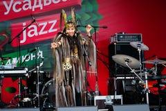διεθνές usadba τζαζ φεστιβάλ Στοκ φωτογραφίες με δικαίωμα ελεύθερης χρήσης