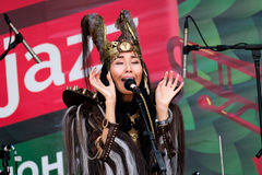 διεθνές usadba τζαζ φεστιβάλ Στοκ Εικόνες