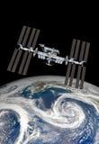 Διεθνής Διαστημικός Στα&the Στοκ Εικόνα