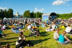 διεθνής τζαζ VIII φεστιβάλ Στοκ Εικόνες