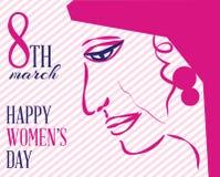 διεθνείς s γυναίκες ημέρας Στοκ Εικόνες