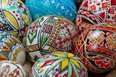 Ιερά αυγά Πάσχας εβδομάδας Στοκ Εικόνες
