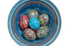 Ιερά αυγά Πάσχας εβδομάδας Στοκ εικόνα με δικαίωμα ελεύθερης χρήσης