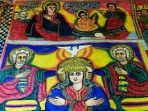 Ιερές εικόνες στην Αιθιοπία Στοκ εικόνες με δικαίωμα ελεύθερης χρήσης