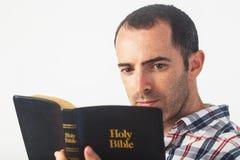 ιερή ανάγνωση Βίβλων Στοκ φωτογραφία με δικαίωμα ελεύθερης χρήσης