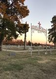 Ιερή αποστολή και νεκροταφείο καρδιών στοκ εικόνα με δικαίωμα ελεύθερης χρήσης