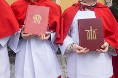 Ιερή Βίβλος, καθολική εκκλησία Στοκ Εικόνα
