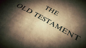 Ιερή Βίβλος Στοκ φωτογραφίες με δικαίωμα ελεύθερης χρήσης