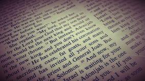 Ιερή Βίβλος Στοκ Φωτογραφία