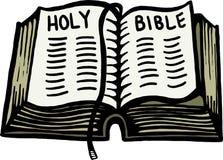 Ιερή Βίβλος απεικόνιση αποθεμάτων