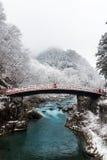 Ιερή γέφυρα Shinkyo Στοκ φωτογραφίες με δικαίωμα ελεύθερης χρήσης