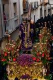 ιερή εβδομάδα της Ισπανίας πομπών θρησκευτική Στοκ φωτογραφία με δικαίωμα ελεύθερης χρήσης