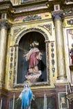 Ιερή εβδομάδα στην Ισπανία, τις εικόνες των virgins και τις αντιπροσωπεύσεις Chr στοκ εικόνα με δικαίωμα ελεύθερης χρήσης