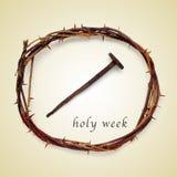 Ιερή εβδομάδα στοκ εικόνες με δικαίωμα ελεύθερης χρήσης