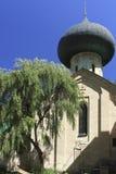 Ιερή εκκλησία μεταμόρφωσης στο ύφος Nouveau τέχνης Στοκ Εικόνες