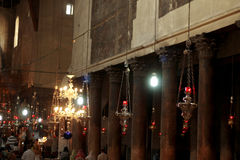 Ιερή εκκλησία του Nativity Βηθλεέμ Ισραήλ Στοκ φωτογραφίες με δικαίωμα ελεύθερης χρήσης