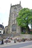 Ιερή εκκλησία τριάδας σε Skipton Στοκ Εικόνα