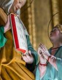 Ιερή επίκληση χεριών Στοκ φωτογραφία με δικαίωμα ελεύθερης χρήσης