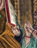 Ιερή επίκληση χεριών Στοκ Εικόνες