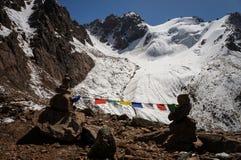Ιερή θέση στα βουνά στοκ εικόνες