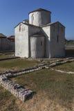 Ιερή διαγώνια εκκλησία στη Nin, Κροατία Στοκ Φωτογραφία