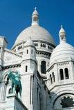 Ιερή καρδιά βασιλικών δεξιά πλευρών στο Παρίσι Στοκ Φωτογραφία