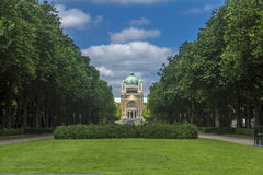 Ιερή καρδιά Parc Elisabeth Βρυξέλλες Βέλγιο βασιλικών Στοκ φωτογραφία με δικαίωμα ελεύθερης χρήσης