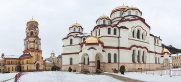 Ιερή μητρόπολη της Αμπχαζίας στοκ φωτογραφία