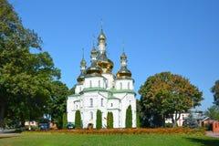 Ιερή μονή καλογραιών Hustynskyi τριάδας, μονή, μοναστήρι, θρησκευτικό β Στοκ Φωτογραφία