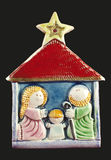 Ιερή οικογένεια Στοκ εικόνα με δικαίωμα ελεύθερης χρήσης