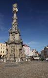 ιερή τριάδα hradec στηλών jindrichuv στοκ φωτογραφία με δικαίωμα ελεύθερης χρήσης