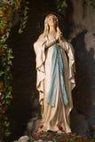 ιερή Lourdes Mary Στοκ εικόνα με δικαίωμα ελεύθερης χρήσης