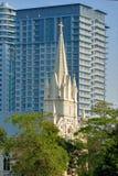 Ιερή Rosary της Μαλαισίας Κουάλα Λουμπούρ εκκλησία Στοκ φωτογραφία με δικαίωμα ελεύθερης χρήσης