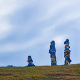 Ιεροί σωροί Buryats Στοκ φωτογραφίες με δικαίωμα ελεύθερης χρήσης