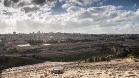 Ιερουσαλήμ timelapse απόθεμα βίντεο