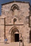 ΙΕΡΟΥΣΑΛΗΜ, ΙΣΡΑΗΛ στις 15 Ιουλίου 2015: Εκκλησία του ST Anna, Ιερουσαλήμ Στοκ εικόνα με δικαίωμα ελεύθερης χρήσης