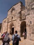 ΙΕΡΟΥΣΑΛΗΜ, ΙΣΡΑΗΛ στις 15 Ιουλίου 2015: Εκκλησία του ST Anne, Ιερουσαλήμ Στοκ φωτογραφία με δικαίωμα ελεύθερης χρήσης