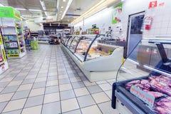 ΙΕΡΟΥΣΑΛΗΜ, ΙΣΡΑΗΛ - 17 ΦΕΒΡΟΥΑΡΊΟΥ 2013: Εσωτερικό του κρέατος και του άλατος Στοκ Φωτογραφία