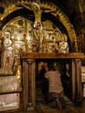 ΙΕΡΟΥΣΑΛΗΜ - Juli 15: Stone του Anointing του Ιησού Hol Στοκ Εικόνες