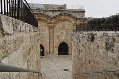 Ιερουσαλήμ, η χρυσή πύλη Στοκ εικόνα με δικαίωμα ελεύθερης χρήσης