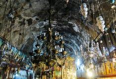 Ιερουσαλήμ, Ισραήλ - 13 Ιουλίου 2015: Η υπόγεια Ορθόδοξη Εκκλησία Στοκ φωτογραφία με δικαίωμα ελεύθερης χρήσης