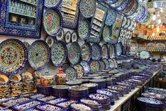 Ιερουσαλήμ, Ισραήλ - 17 Οκτωβρίου 2016 Κεραμικά πιάτα και το άλλο s Στοκ φωτογραφία με δικαίωμα ελεύθερης χρήσης