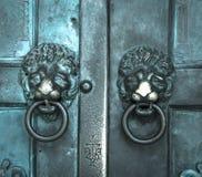 Ιερός διαγώνιος, παλαιός, πόρτα, καθεδρικός ναός της Αμάλφης Στοκ Φωτογραφία