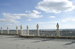 Ιερός καθεδρικός ναός Dormition πεζουλιών σε Pochaev Lavra Στοκ φωτογραφία με δικαίωμα ελεύθερης χρήσης