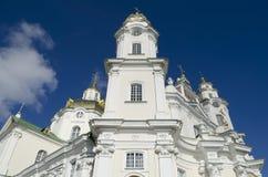 Ιερός καθεδρικός ναός Dormition σε Pochaev Lavra Στοκ Εικόνες