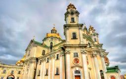 Ιερός καθεδρικός ναός Dormition σε Pochayiv Lavra στην Ουκρανία Στοκ εικόνα με δικαίωμα ελεύθερης χρήσης