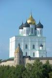 Ιερός καθεδρικός ναός τριάδας στο Pskov Στοκ Εικόνα
