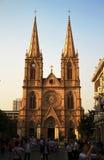 Ιερός καθολικός καθεδρικός ναός καρδιών στο Guanzhou Κίνα Στοκ εικόνα με δικαίωμα ελεύθερης χρήσης