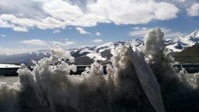 Ιερός πάγος στοκ φωτογραφία